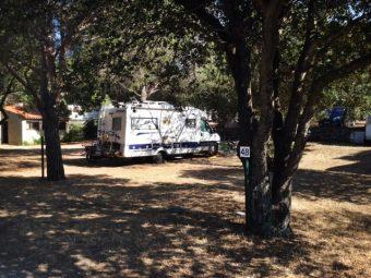 The Orniccio campsite